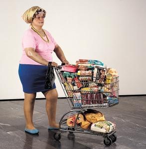 duane hanson société consommation supermarché