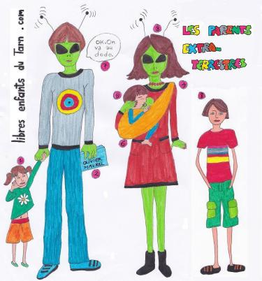 rencontres parents enfants extra-terrestres Albi Tarn 81