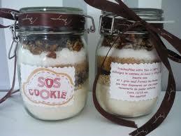 bocal sos cookies cadeau fait maison noel albi tarn 81