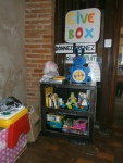 GiveBox 2.0 Albi troc échange jeux jouets ludothèque libres enfants du tarn