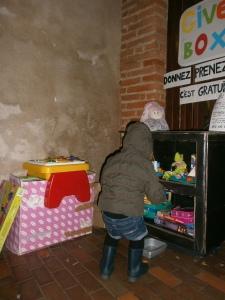 GiveBox 2.0 Albi Libres enfants du Tarn ludothèque La Marelle jouets troc 81 dons récup recyclage jeux gratuit
