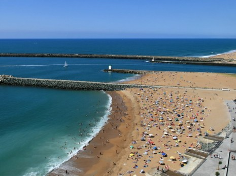 plage Anglet la Barre pays basque mer Bayonne Biarritz violence éducative ordinaire