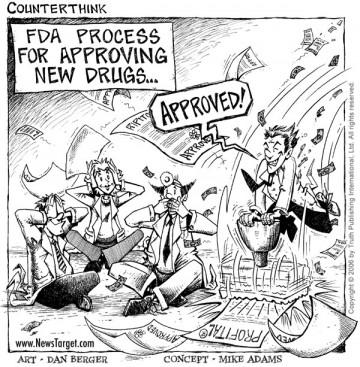 caricature collusion médecins laboratoires pharmaceutiques