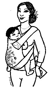 portage bébé enfant maternage proximal