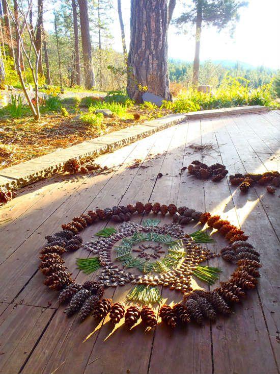 Land art et mandalas : une super activité d'automne en famille (5/6)