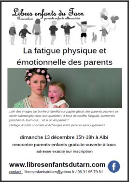 affiche rencontre parents extra-terrestres albi tarn burn-out fatigue parents
