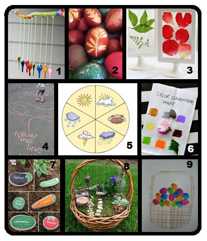 idées DIY bricolages printemps activités libres enfants du tarn