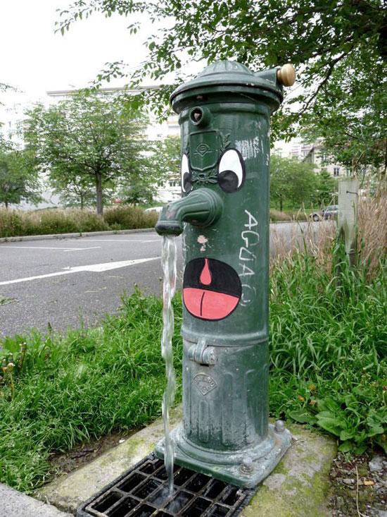 street art l'enfant dans la ville gaillac libres enfants du tarn 81