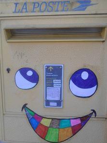 street art boite aux lettres gaillac aux enfants ville récréative libres enfants du tarn réseau 81