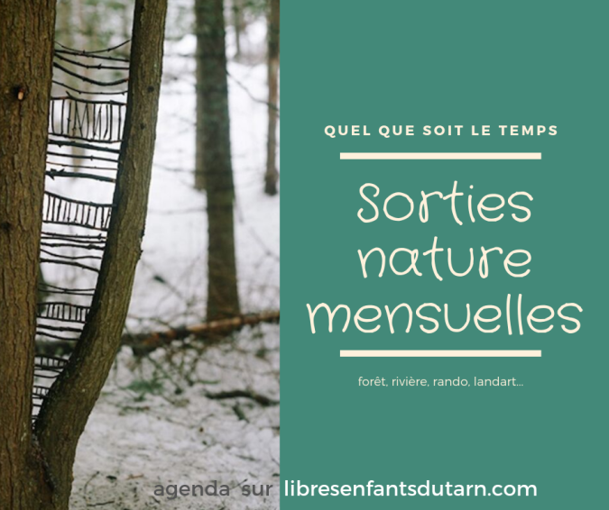 sorties nature libres enfants du tarn forest school 81